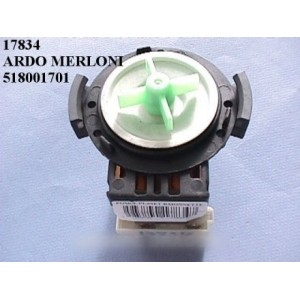 pompe de vidange ardo merloni pour lave linge ARISTON