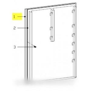 porte refrigerateur avec joint pour réfrigérateur MIELE