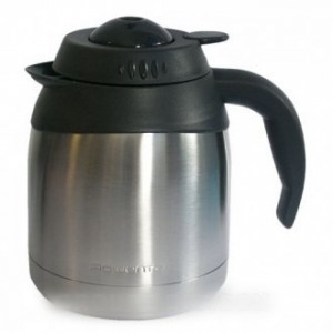 POT ISOTHERME INOX ANTI-CHOC 15 TASSES BRUNCH POUR CAFETIERE ROWENTA
