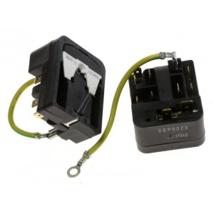 relais + coupe circuit compresseur htk80aa pour congélateur FAGOR