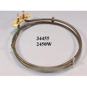 resistance de four circulaire 2450 w pour four BOSCH B/S/H
