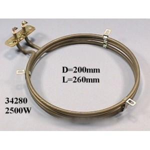 resistance de four circulaire 2500 w pour four ROSIERES