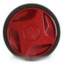 roue + enjoliveur rouge