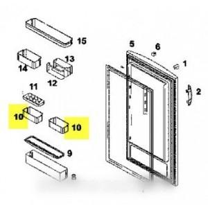 boite intermediaire de porte d/g pour réfrigérateur BRANDT