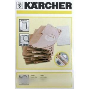 SACS (X5) POUR ASPIRATEUR KARCHER