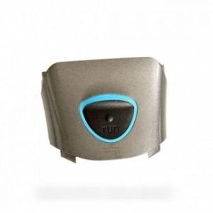 boitier avant gris metal pour rasoirs electriques BRAUN