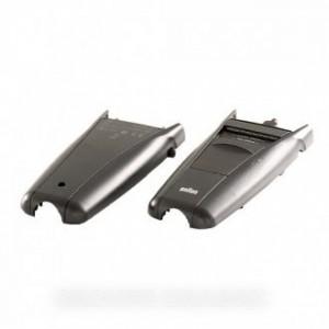boitier complet avv+arr noir pour rasoirs electriques BRAUN