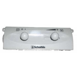 boitier de commande blanc sans module pour hotte SCHOLTES