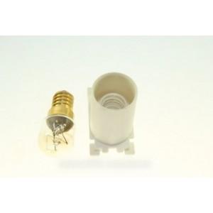 support lampe et ampoule pour sèche linge ARTHUR MARTIN ELECTROLUX FAURE