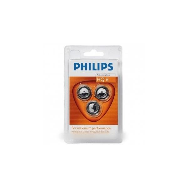 tete de rasoir philips quadra hq6 pack 3 pour rasoir philips. Black Bedroom Furniture Sets. Home Design Ideas