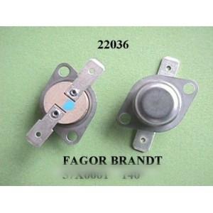thermostat 140° brandt vedette pour sèche linge BRANDT