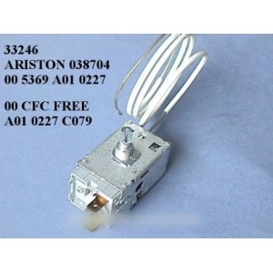 thermostat atea 00 cfc a01 0227 c079 pour réfrigérateur ARISTON