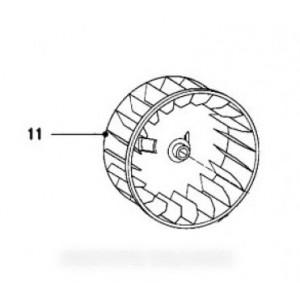 turbine de ventilateur pour sèche linge MIELE