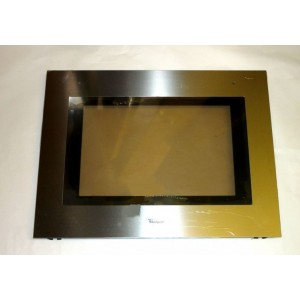 vitre exterieure pour four whirlpool r f 9900776 cuisson four glace vitre. Black Bedroom Furniture Sets. Home Design Ideas