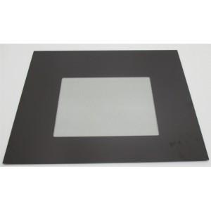 vitre exterieure couleur brune pour four DE DIETRICH