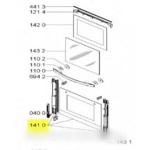 vitre porte de four exterieure pour four WHIRLPOOL