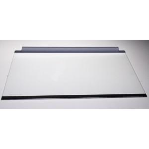 CLAYETTE VERRE,COMPLETE 477X301MM pour réfrigérateur ELECTROLUX