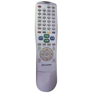 TELECOMMANDE POUR TV DVD SAT SHARP