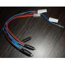 CABLAGE + LAMPE TEMOIN (AMP) pour congélateur INDESIT