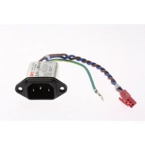 EMBASE SECTEUR (FILTRE) IF-N06AEWL1 250VAC 6A 0.1UF 1000PF pour tv lcd cables LG