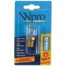 Ampoule refrigerateur E14 T22 15W