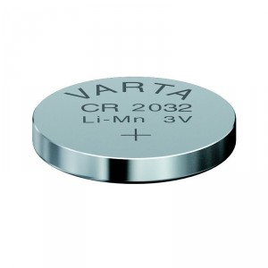 3,0V-170MAH PILE BOUTON LITHIUM VARTA 20X3,2MM.