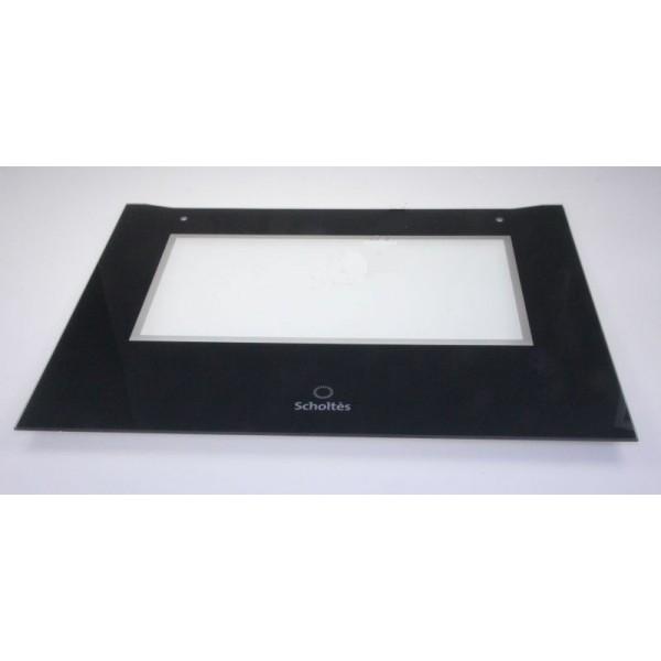 verre exterieure porte pour four scholtes r f d229391. Black Bedroom Furniture Sets. Home Design Ideas