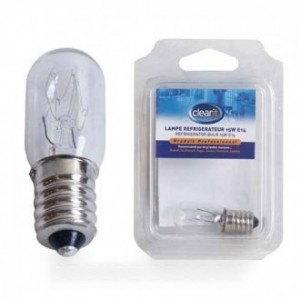 AMPOULE REFRIGERATEUR 15W E14 pour réfrigérateur BRANDT