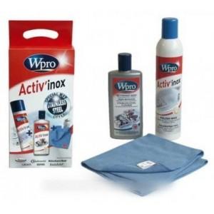 activ'inox creme + polish + tissu microf pour entretien CONSTRUCTEURS DIVERS