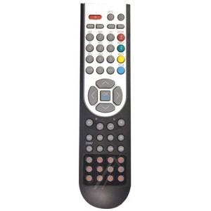 TÉLÉCOMMANDE NOIRE TV ET DVD SYLVER TECHWOOD