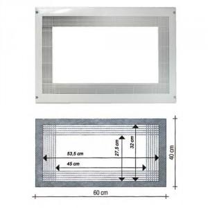 encadrement micro ondes blanc pour micro onde encastrable. Black Bedroom Furniture Sets. Home Design Ideas
