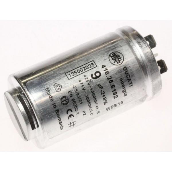 condensateur 9mf ducati boitier metal pour seche linge electrolux r 233 f 5021551 lavage