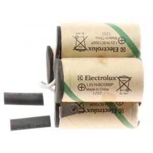 BATTERIE,COMPLETE ,4.8V POUR ASPIRATEUR ELECTROLUX