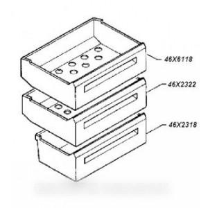 tiroir intermédiaire  pour réfrigérateur DE DIETRICH