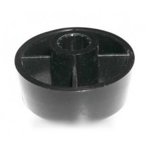bouton de programmateur noir pour four DE DIETRICH