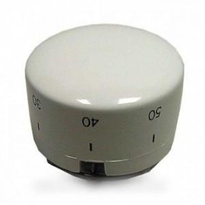 bouton de thermostat blanc pour lave linge ARISTON