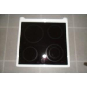 dessus de vitrocéramique pour cuisinière BRANDT