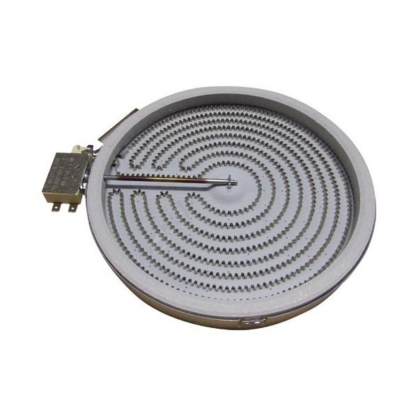 1051111004 chauffage radiant d210 2300w pour plaque de. Black Bedroom Furniture Sets. Home Design Ideas