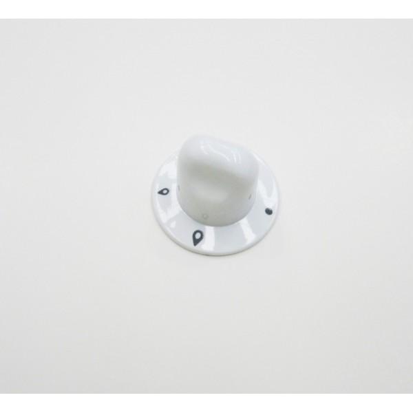 bouton plaque gaz blanc pour table de cuisson ariston. Black Bedroom Furniture Sets. Home Design Ideas