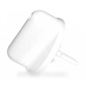 bouton platine blanche pour petit electromenager SEB ROWENTA