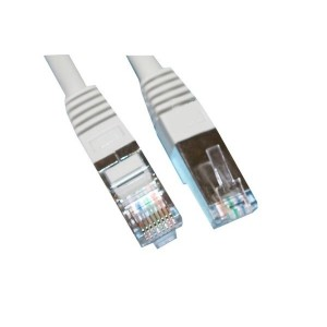 CORDON RJ45 MALE BLINDAGE SIMPLE CAT 5 CONNEXION 1:1 0.5M
