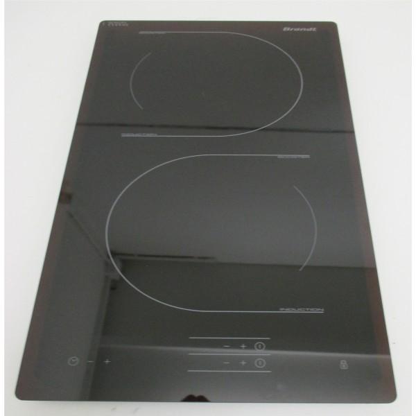 dessus verre pour plaque induction brandt r f 5343605 cuisson table de cuisson plaque. Black Bedroom Furniture Sets. Home Design Ideas