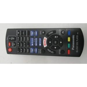 TELECOMMANDE  POUR LECTEUR DVD BLU RAY PANASONIC
