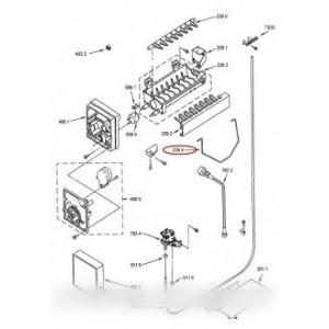 bras d'arret pour réfrigérateur WHIRLPOOL