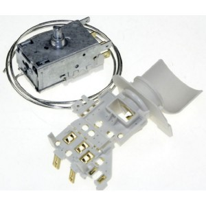THERMOSTAT + SUPPORT LAMPE EN REMPLACEMENT THERMOSTAT A130681R  POUR REFRIGERATEUR WHIRLPOOL