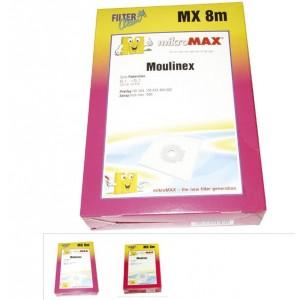 SAC MX8M  POUR ASPIRATEUR MOULINEX