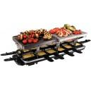 Russell hobbs - 19560-56 - raclette, grill, pierre à cuire multifonctions 3 en 1 - 12 personnes
