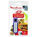 CLÉ USB - 25 RECETTES DU MONDE POUR ROBOT COOKEO MOULINEX