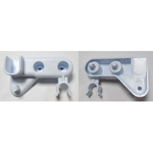 butoir blanc droite portillon h.63x13 pour réfrigérateur SCHOLTES