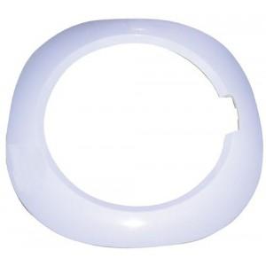 cadre hublot blanc 27 pour lave linge INDESIT